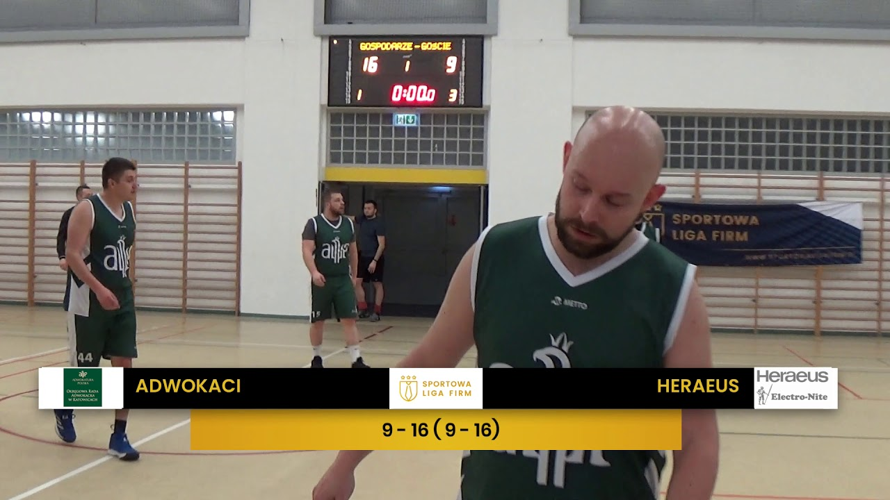 Adwokaci vs Heraeus ( SLF Koszykówka, Zima 2020)