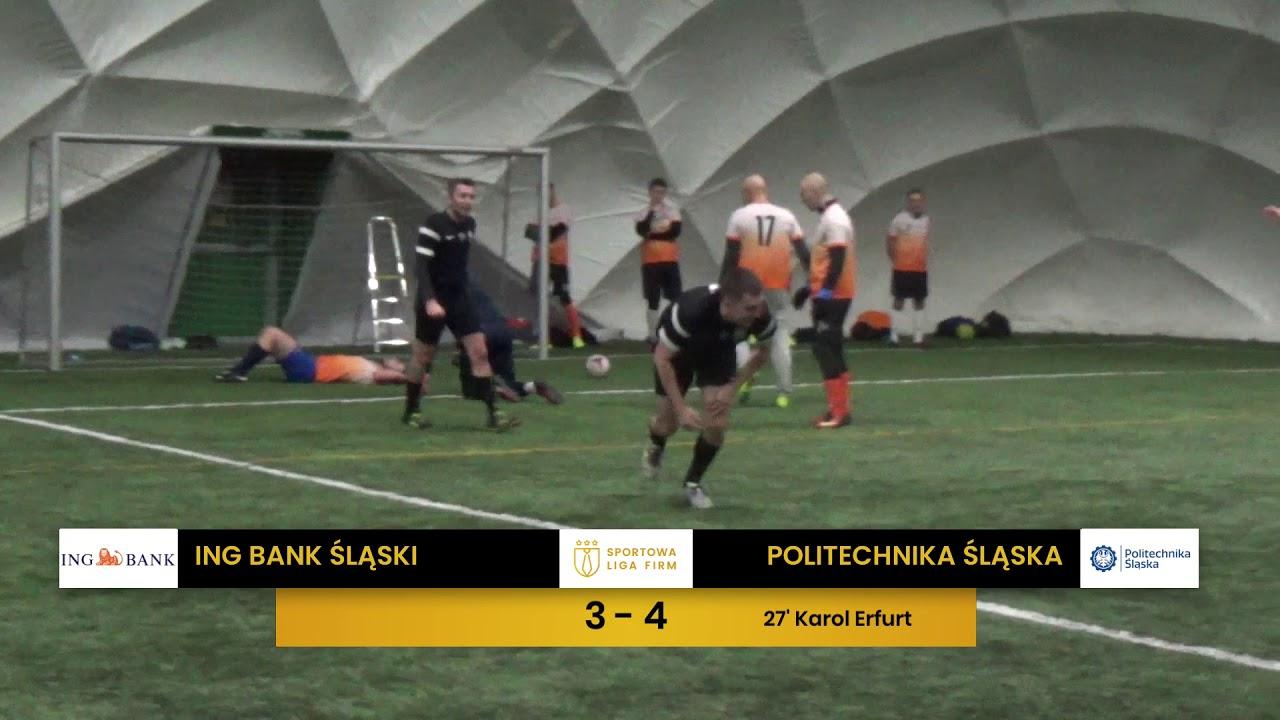 ING Bank Śląski vs Politechnika Śląska (1. tydzień, SLF Silesia Zima 2020)