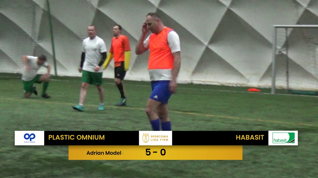 Plastic Omnium vs Habasit (1. tydzień, SLF Silesia Zima 2020)