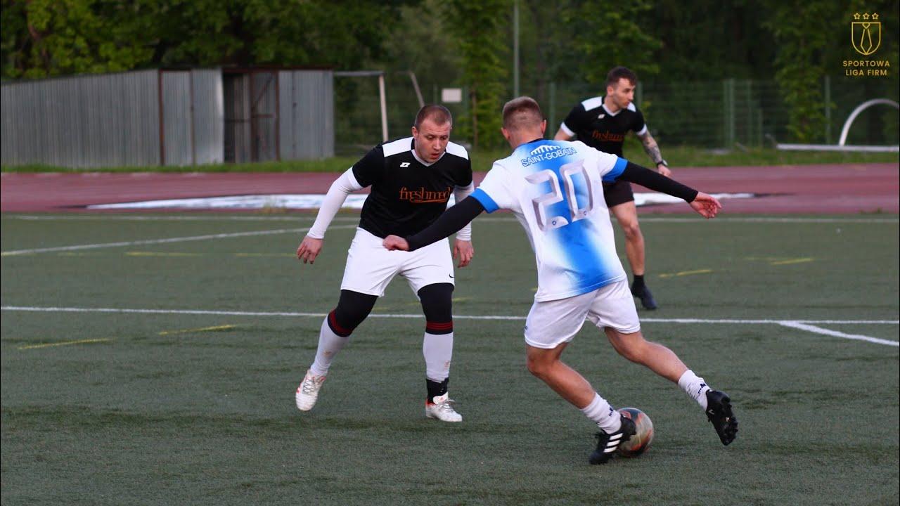 Freshmed vs Saint Gobain (10. tydzień, SLF Silesia Zima 2020)