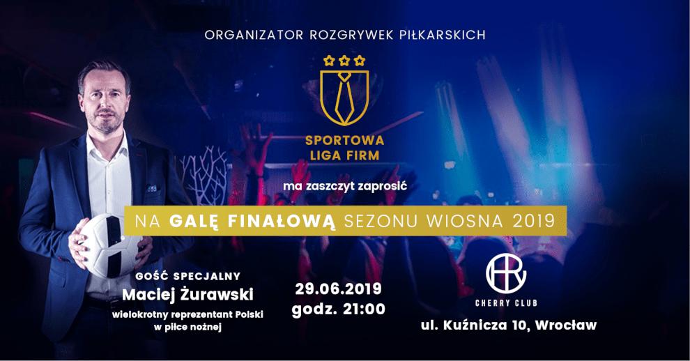 Maciej Żurawski gościem specjalnym Gali finałowej weWrocławiu!