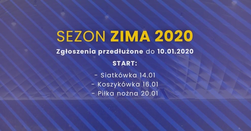 Zapisy dosezonu Zima 2020 przedłużone