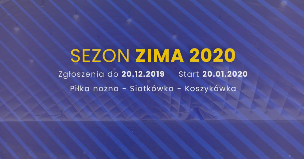 Zapisy dosezonu Zima 2020 otwarte