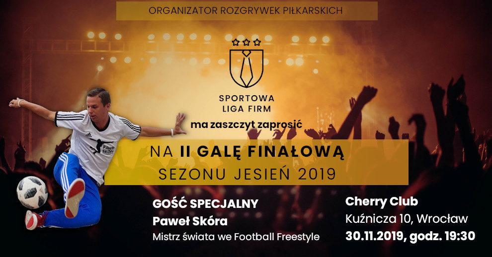 Zaproszenie gala wrocław