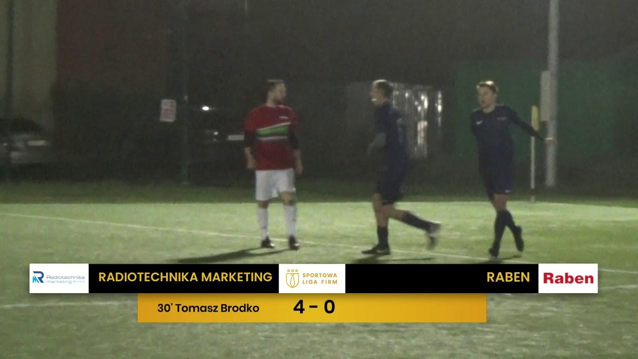 Radiotechnika Marketing vs Raben (11. tydzień, SLF Wrocław Jesień 2019)