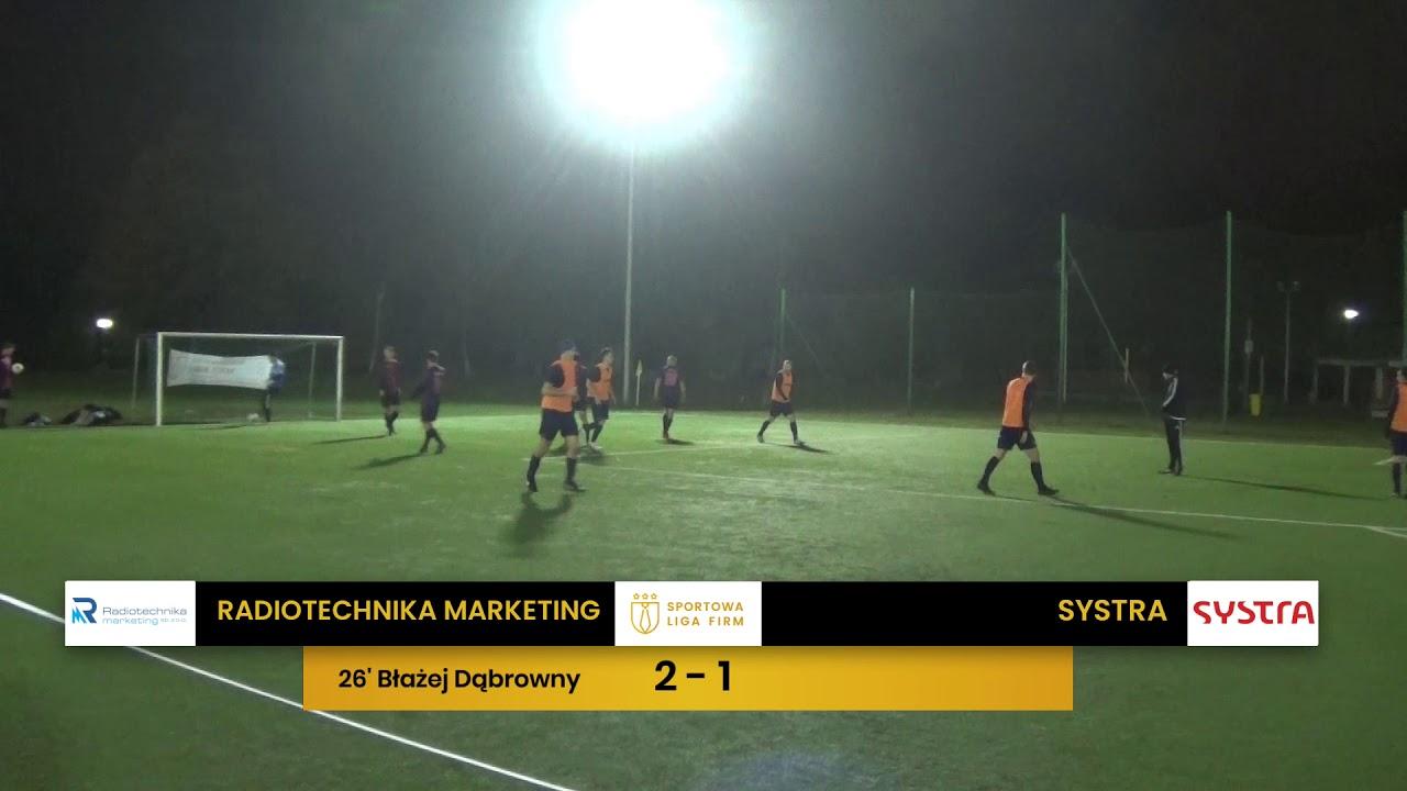 Radiotechnika Marketing vs Systra (11. tydzień, SLF Wrocław Jesień 2019)